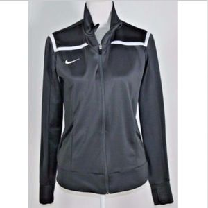 Nike Women's jacket activewear size medium gray
